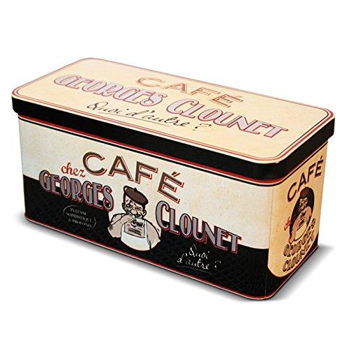 NATIVES - Boite pour dosettes cafe nespresso Georges Clounet