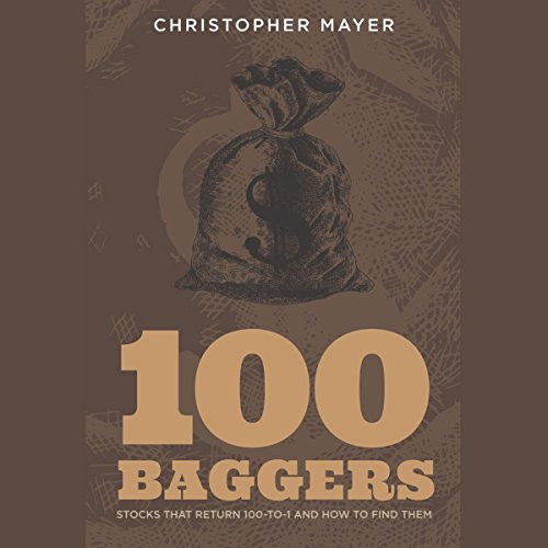 100 Baggers     Stocks That Return 100-to-1 and How to Find Them              De :                                                                                                                                 Christopher W. Mayer                               Lu par :                                                                                                                                 Tom Jacobs                      Durée : 6 h et 19 min     1 notation     Global 5,0