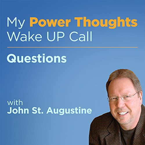 Questions with John St. Augustine audiobook cover art