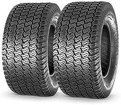 MaxAuto 2 Pcs Turf Saver Lawn & Garden Tire - 20x8.00x10 LRB 4ply