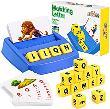 Let's Go! Matching Letter Learning Games for Kids Ages 3-8