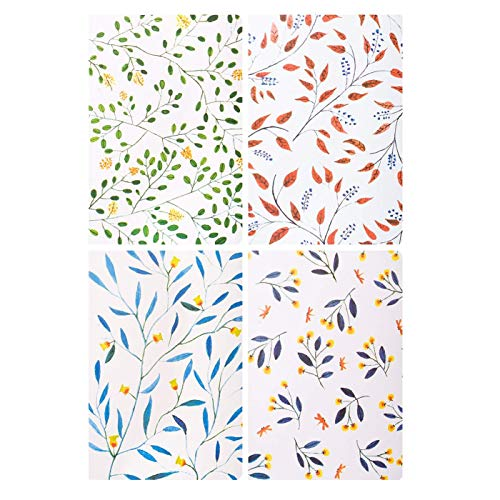 Memo Books - Cuaderno con rayas, A5, cuaderno de notas con tapa blanda, 4 colores, paquete de 4