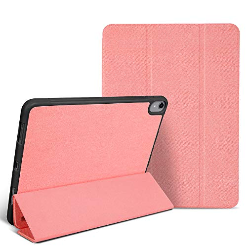 LHXHL Custodia Protettiva per iPad PRO 12.9 2018,Custodia in Pelle TPU Anti-Caduta con Fessura per Penna Custodia Protettiva Intelligente Ultrasottile Cover Protettiva Piatta per Dormire