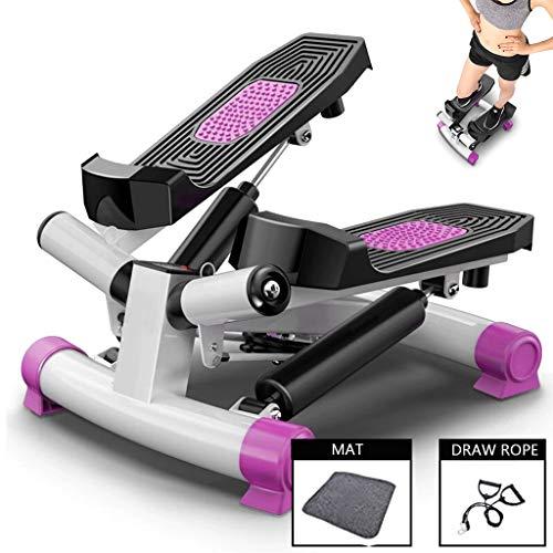 RLF LF Hydraulisch Pedalmaschine, Zuhause Stumm Elliptische Trainingsmaschinen Stepper Fitnessgeräte Für Männer Und Frauen, MS-T001B