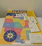 Revised & Expanded Edition of Maps of the USA for Grades 1-6
