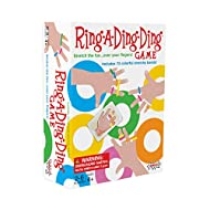 AMIGO Ring-A-Ding-Ding Kids Card Game with 72 Hair Ties