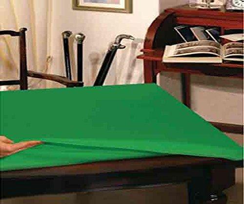 Copritavolo verde sottotovaglia 4 posti cm 135x135