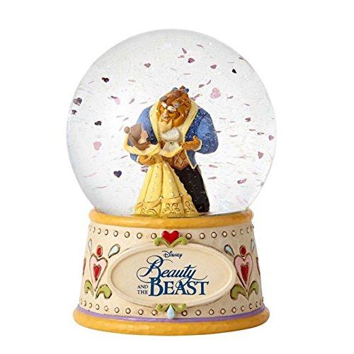 Disney Traditions 'Beauty & the Beast' Schneekugel Jim Shore Figur 4059189