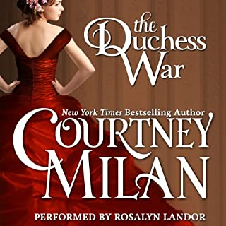 The Duchess War audiobook cover art