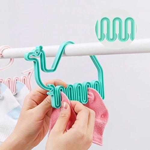 GeekGoodies Kids Mini Socks Hanger Set of 2- (Camel)