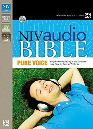 NIV, Audio Bible, Pure Voice, Audio CD