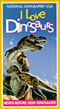 National Geographic Kids: I Love Dinosaurs VHS