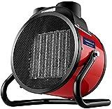 TYZXR Calentadores eléctricos Ventilador Acero Inoxidable Protección contra sobrecalentamiento Control termostático Ajustable 3KW