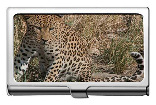 Professioneller Business Kreditkartenetui/Ausweisetui, Südafrika Wild Leopard Visitenkartenetui Wallet Kreditkartenetui
