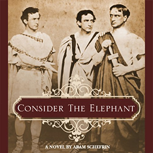 Consider the Elephant audiobook cover art