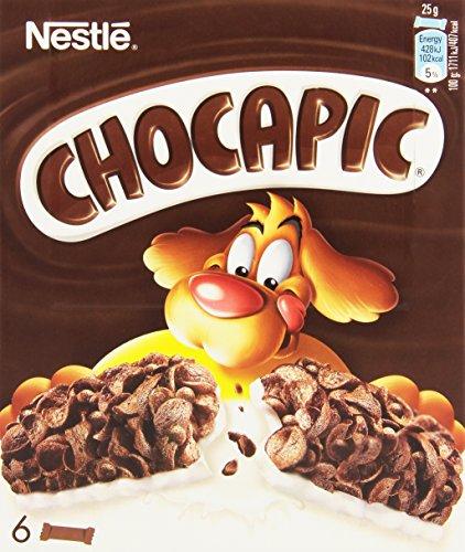 Chocapic de Nestlé Barre de Céréales 6 x 25 g