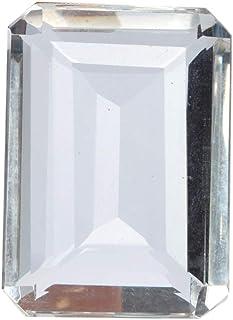 1 Piece White Topaz 94.80 Ct Emerald Cut White Topaz Loose Gemstone for Jewelry