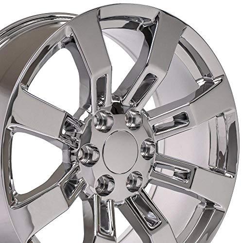 OE Wheels LLC 20 Inch Fits Chevy Silverado Tahoe GMC Sierra Yukon Cadillac Escalade Style CA82...