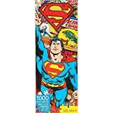 AQUARIUS Superman Retro 1000 PC Slim Jigsaw Puzzle