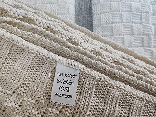 Mehrzweck Plaid 180x260cm 100% Baumwolle/Decke...