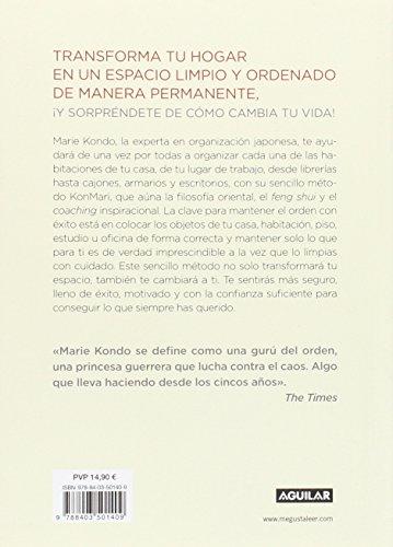 Reseña y Review del libro LA MAGIA DEL ORDEN: Herramientas para ordenar tu Casa y tu Vida de Marie Kondo