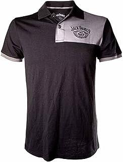 de63f8643 Jack Daniel's Adult Male Old No.7 Brand Polo Shirt, S, Black/