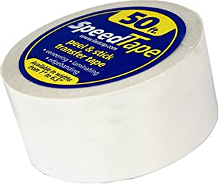 FASTCAP S-Tape.2-inchX50' Speed Tape 2-Inch by 50-Foot Roll of Peel and Stick Glue Line for Wide Edging