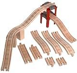 ラーニングカーブ きかんしゃトーマス 木製レール 拡張線路セット(スロープ) 99931