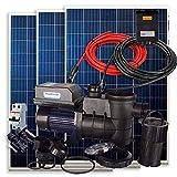 Kit Solar PlusEnergy para Piscina + Bomba Depuradora Solar 550W 60V 3/4cv + 3 Paneles Solares + Conectores