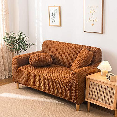 Fsogasilttlv Funda de sofá Estiramiento 2 plazas y 4 plazas 2 Piezas, Fundas de sofá elásticas elásticas, Funda de sofá seccional para sofá de Esquina para Sala de Estar