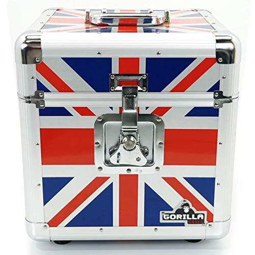 Gorilla Cases contenitore in alluminio per trasporto dei dischi in vinile (capienza 100 dischi)