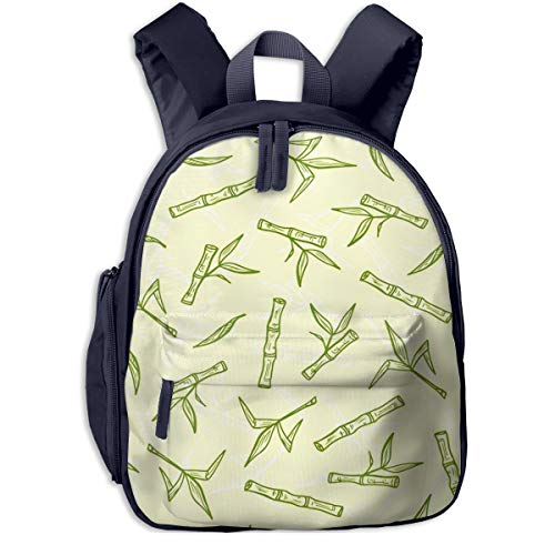 Kinderrucksack Kleinkind Jungen Mädchen Kindergartentasche Zuckerrohr Bambus Zuckerrohr Pflanzen Backpack Schultasche Rucksack