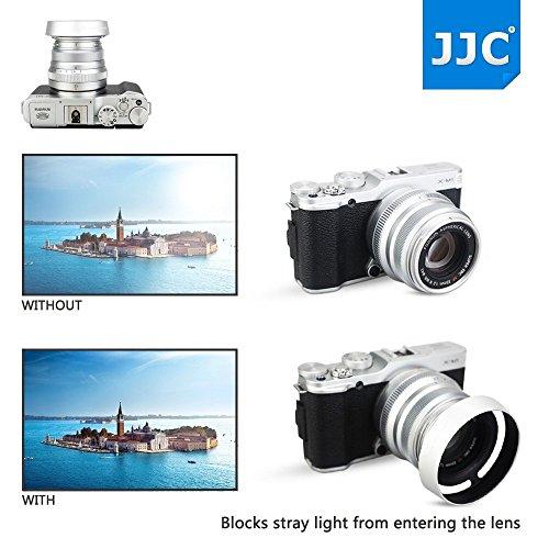 43mm Screw-in Metal Lens Hood Shade for Fujifilm Fujinon XC 35mm F2 /& XF 35mm F2 /& XF 23mm F2 R WR Lens Replaces Fuji LH-XF35-2 on Xpro3 Xpro2 Xpro1 XT4 XT3 XT2 XT1 XT30 XT20 XT10 XE3 XE2S XT200 XT100