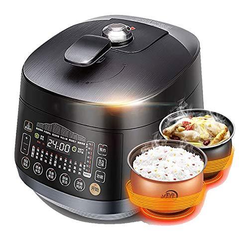 XIAOFEI Multi. Kocher Sofortig Topf Elektrische Schnellkochtöpfe Ausdrücken Programmierbar Multi- Kocher Schleppend Kocher Schleppend Kocher Hält Essen Heiß 5L