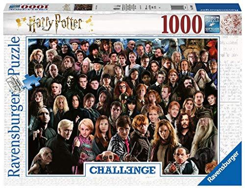 Ravensburger 14988 Harry Potter, Puzzle 1000 Pezzi, Collezione Challenge, Puzzle per Adulti