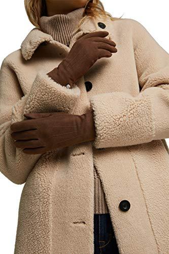 ESPRIT Accessoires Damen 110EA1R301 Winter-Handschuhe, 210/BROWN, 6 ½