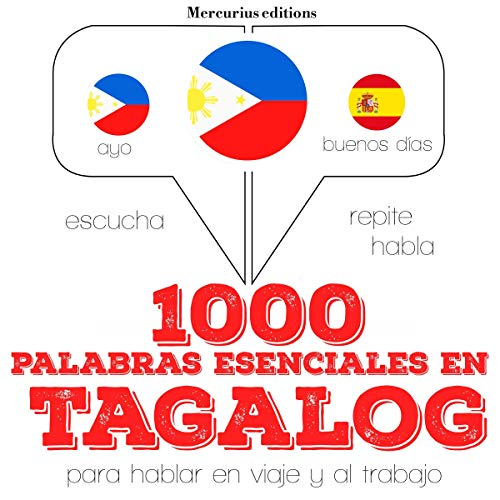 1000 palabras esenciales en tagalog (filipinos) cover art