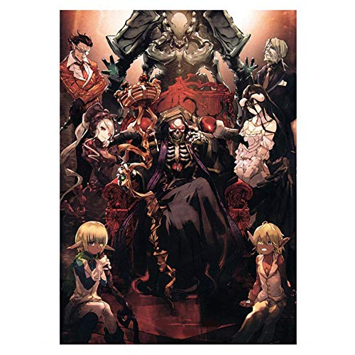 SGOT evebel Overlord Poster, Anime Wall Paper Poster Patinting, Decorative Painting for Anime Lovers(40 x 60cm)