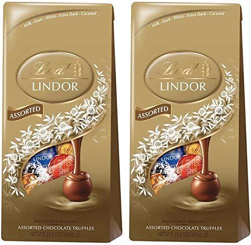 リンツ リンドール アソート チョコレート 600グラム ダーク,ミルク,ホワイトの4種類アソート Lindt LINDOR...
