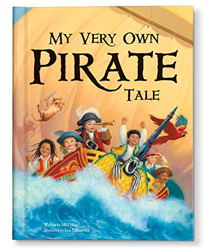 Pirate Book for Kids, Personalized Name Book for Children