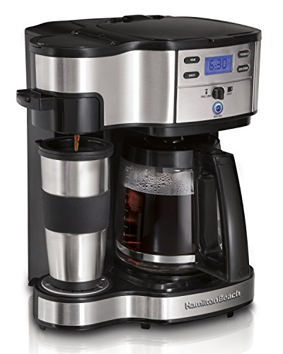 Hamilton Beach 2-Way Brewer Coffee Maker, Single-Serve...