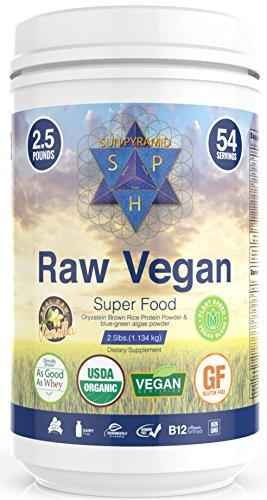 Sun Pyramid Vegan Protein Powder