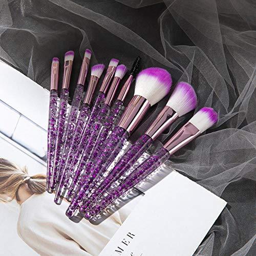 LZJE 10 hochwertige professionelle Make-up Pinsel Set Kosmetik Pinsel Beauty Tool Kits für...