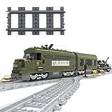 VERY100 18x Gerade Schienen Kurvenschienen Gleise Flexible Schienen (Gerades Gleis dunkle) -