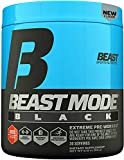Beast Sports Nutrition – Beast Mode Black – Ultimate Workout Supplement – High Energy Production – Maximizes Strength & Muscle Gain – Supports Healthy Test Levels – Blue Raspberry 30 Servings