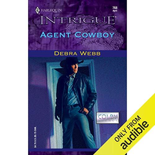 Agent Cowboy audiobook cover art