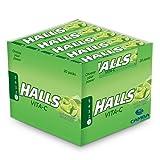 Halls - Sabor LIMA - Sin Azúcar - 20 unidades