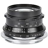 Qiilu Kameraobjektiv, 7Artisans 35mm f1.2 Portrait Manual Objektiv mit großer Blende für die spiegellose Nikon Z6 Z7 Z50 Z-Mount-Kamera