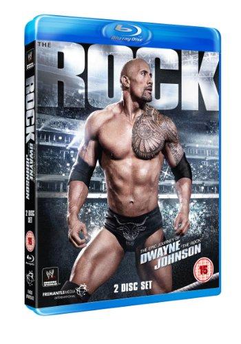 WWE: The Rock - The Epic Journey Of Dwayne Johnson [Blu-ray] [UK Import]