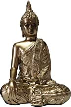 Baoblaze Meditating Buddha Ornament Figurine Zen Garden Buddha Statue Sculpture Indoor/Outdoor Decor for Home Tabletop Off...